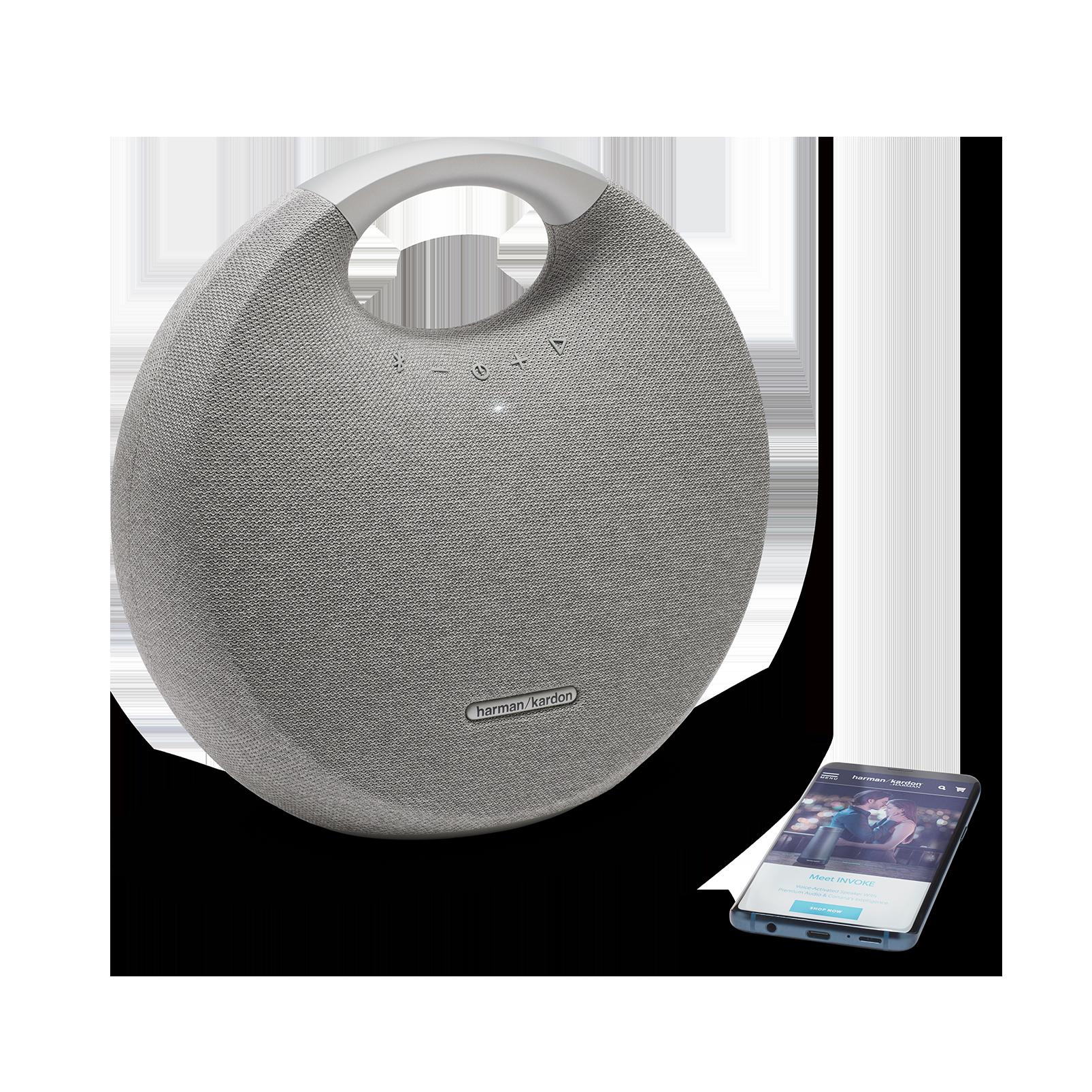 Onyx Studio 5 - Grey - Portable Bluetooth Speaker - Detailshot 1