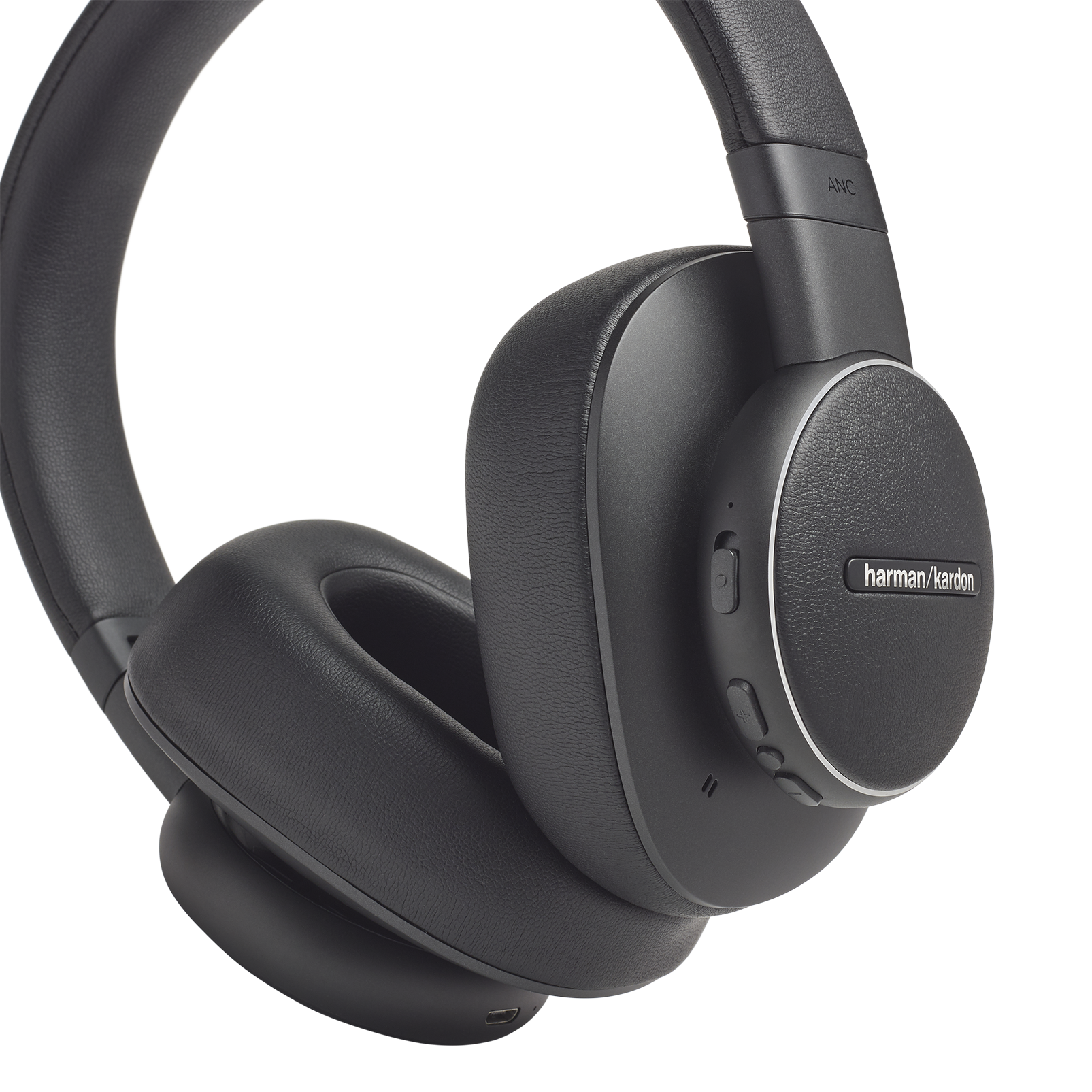 Harman Kardon FLY ANC - Black - Wireless Over-Ear NC Headphones - Detailshot 2