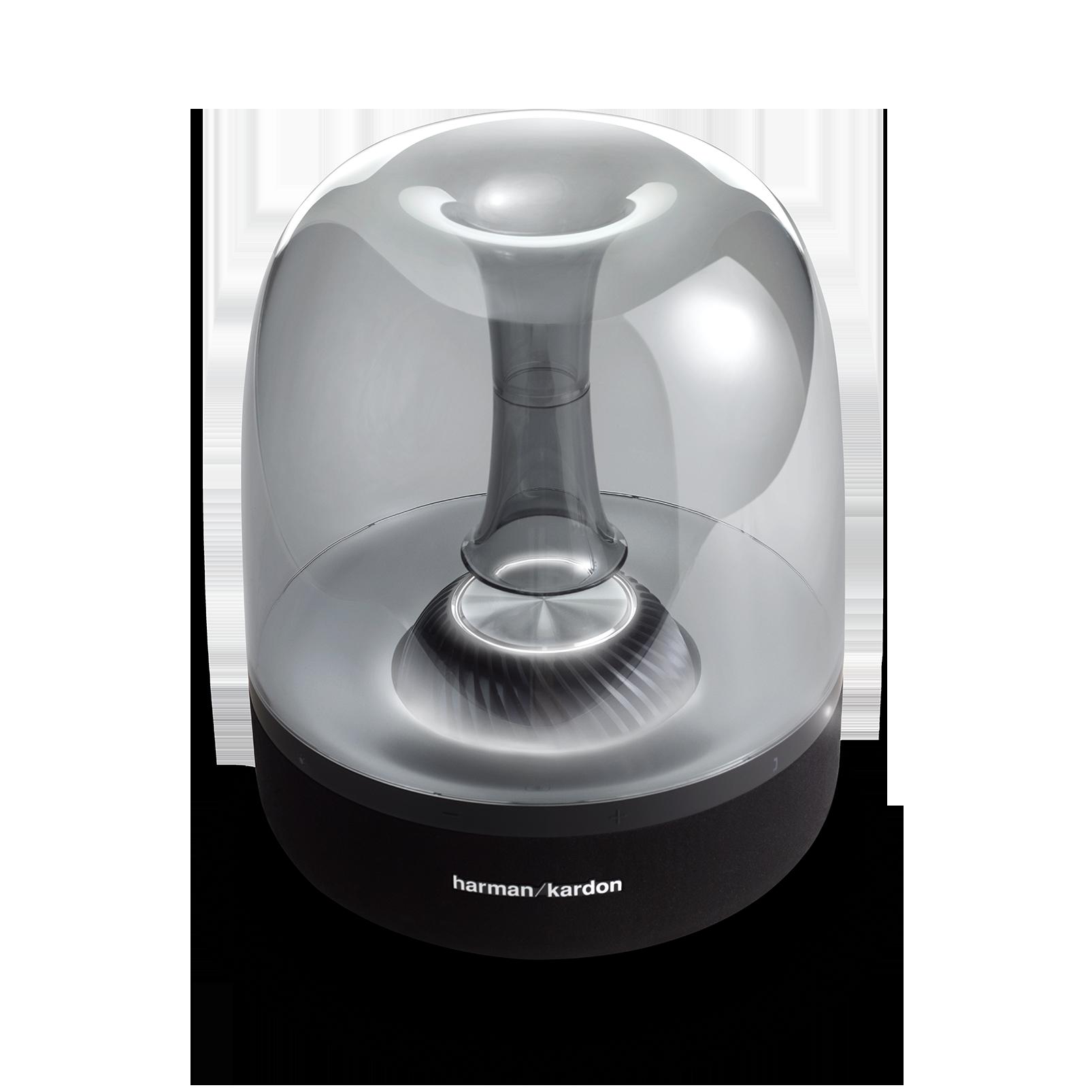 AURA STUDIO 2 - Black - Wireless speaker with ambient lighting - Detailshot 3